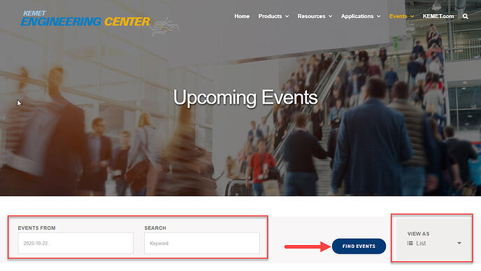 Find upcoming events - Image 2